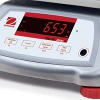 Ohaus   Valor 2000 IP68 Stainless Steel Bench Scale   Oneweigh.co.uk